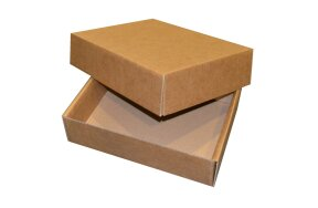 KRAFT BOXES 315x237x83mm SET/5pcs (N26)